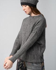 Check Pullover - Alpaka Pullover - Alma & Lovis
