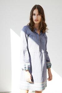 besticktes Kleid Montana aus Bio-Baumwolle - ME&MAY