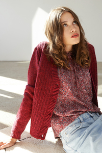 Strickjacke Emy aus recycelter Wolle - ME&MAY