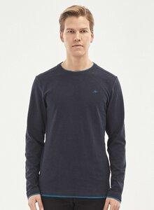 Langarmshirt aus Bio-Baumwolle - ORGANICATION