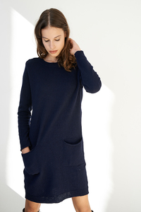 Longpullover/Kleid Saule aus recyclten Strick - ME&MAY