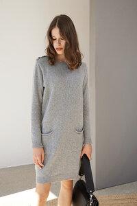 Longpullover/Kleid Saule aus recyclten Strick - ME&MAY