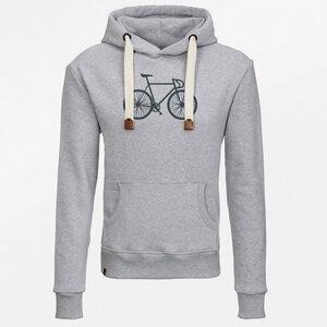 Hooded Sweater Hard Bike Mono - GreenBomb