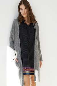 Strickjacke Marie aus recycelter Wolle - ME&MAY