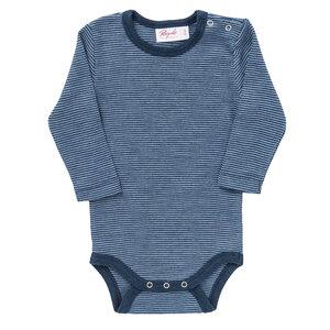 People Wear Organic Baby Langarm-Body Bio-Wolle/Seide - People Wear Organic