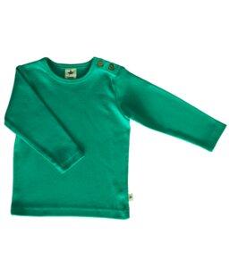 Langarmshirt Bio-Baumwolle Oberteil T-Shirt Türkis - Leela Cotton