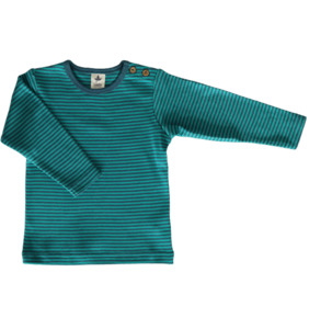 Ringelshirt Langarmshirt Bio-Baumwolle Oberteil T-Shirt Assos - Leela Cotton