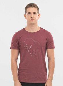 T-Shirt aus Bio-Baumwolle mit Bär-Print - ORGANICATION
