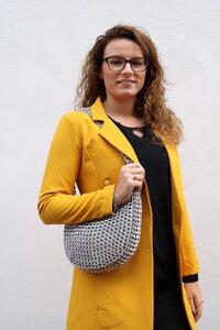 Handtasche aus recycelten Dosenringen - Carmen - MoreThanHip