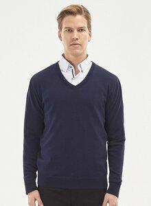 V-Ausschnitt Pullover aus Bio-Baumwolle - ORGANICATION