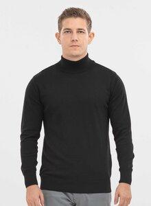 Pullover aus Bio-Baumwolle mit Stehkragen - ORGANICATION