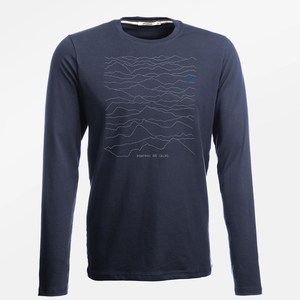 Longsleeve Jazzy Nature Mountains Call - GreenBomb