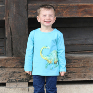 Enfant Terrible Kinder Langarm-Shirt Dino - Enfant Terrible