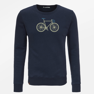 Sweatshirt Wild Bike Two - GreenBomb
