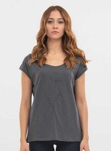 T-Shirt aus Bio-Baumwolle mit Stickerei - ORGANICATION