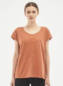T-Shirt aus Bio-Baumwolle mit Stickerei - ORGANICATION