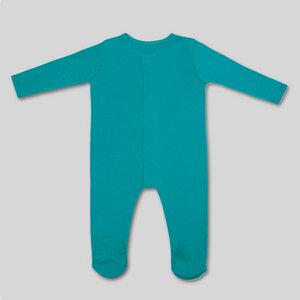 Strampler mit Fuß und Magnetverschluss - Fairtrade & GOTS-zertifiziert - KIDential