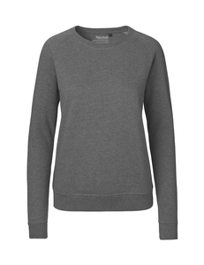 Damen Sweatshirt Sweater Pullover Pulli - Neutral