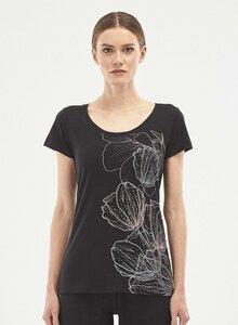 T-Shirt aus Bio-Baumwolle mit Print - ORGANICATION