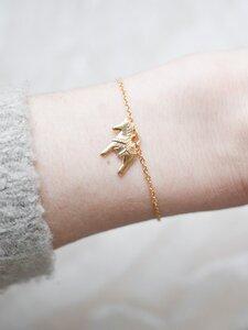 Dalapferd Armband mit Karte skandinavisches Design - Oh Bracelet Berlin
