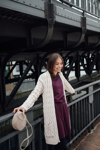 Knit Cardigan #CABLE - recolution