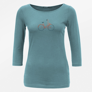 Longsleeve Flimsy Bike Charming - GreenBomb