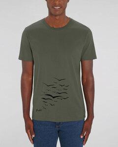 """Bio Unisex T-Shirt """"Create - Free Birds"""" in verschiedenen Farben - Human Family"""