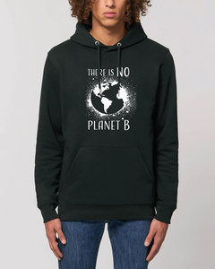 """Bio Unisex Hoodie - """"Charmer - NO Planet B"""" in verschiedenen Farben - Human Family"""