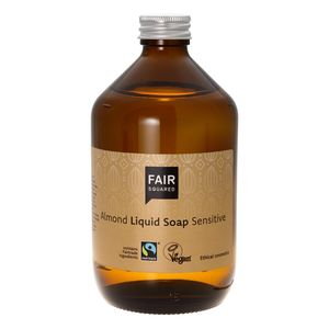 Fair Squared Almond liquid Soap sensitiv  500ml - Fair Squared