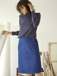 Jeans Rock - Emillia Skirt - Thought