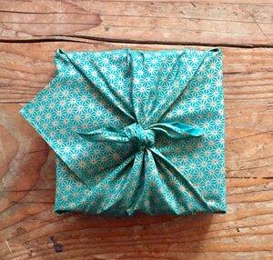 Geschenkverpackung - Medium (55x55cm) FabRap einseitiges - FabRap Gift Wrap
