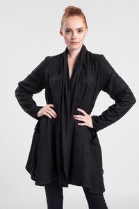 Blazer lang aus Tencel & Bio Baumwolle - LASALINA - LASALINA