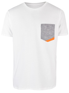Basic Bio Taschen T-Shirt (men) Hemp Denim - Brandless