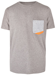 Basic Bio Taschen T-Shirt (men) Hemp Denim - Brandless