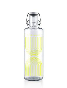 "soulbottle 1,0l • Trinkflasche aus Glas • ""Drink it now""  - soulbottles"