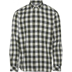 Long Sleeve Checked Slub Shirt GOTS - KnowledgeCotton Apparel