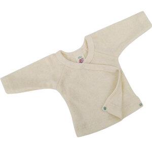 Baby Pullover mit Druckknöpfen Bio-Baumwolle - Engel natur