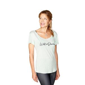 Divine Ocean T-Shirt: Wild & Divine - Divine Flower by Ursula Karven