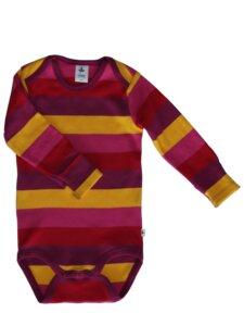 Baby Body Langarm mehrfarbig Smyrna - Leela Cotton