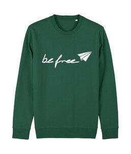 be free - Unisex Logo-Sweatshirt   - be free shoes