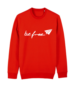 be free - Unisex Logo-Sweatshirt   - DENK.MAL Clothing