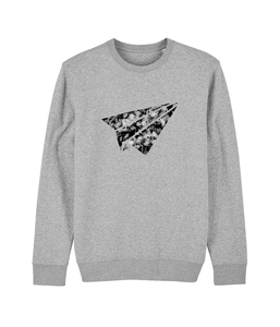 "be free - Unisex Sweatshirt ""Flieger""  - be free shoes"