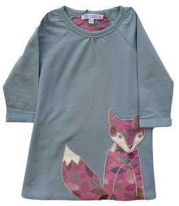 Kleid Langarm Mädchen steelbue 100% Baumwolle ( bio)  - Enfant Terrible