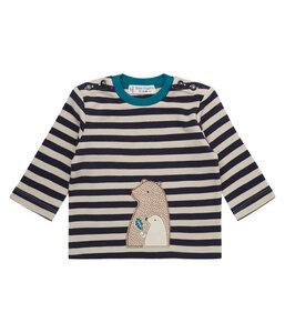 Baby Langarm Shirt * Elan * Bären Print | GOTS | Sense Organics - sense-organics