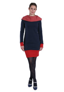 Hoodiekleid Colorful - Die rote Zora