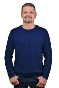 100% Alpaka Pullover für Herren klassisch und modern Andalusia - AlpacaOne