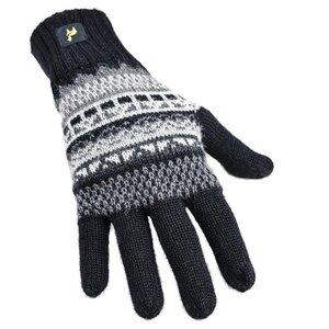 Inka Handschuhe Damen und Herren aus 100% Baby Alpaka Uni sehr weich - AlpacaOne