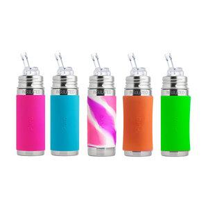 Purakiki Trinkhalmflasche 250ml isoliert in verschiedenen Farben - Purakiki