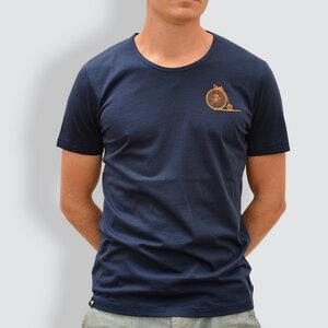 """Herren T-Shirt, """"Aufsteigen"""" - little kiwi"""