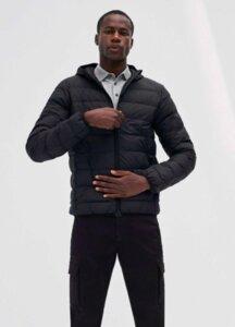 Jacke - Asp Downjacket - Black - ECOALF